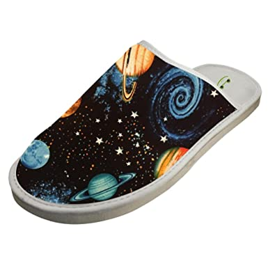 7ad92553dee1 Slippers with Cool Galaxy Vortex 3D Print Indoor Sandals Couple Shoes Flat  House Flip Flops 6