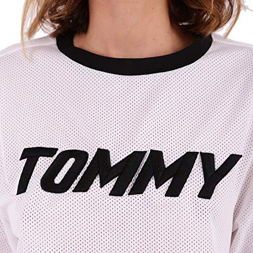 X T Ww0ww21677100 shirt Donna Bianco Gigi Tommy Poliestere 1qdPwgxq