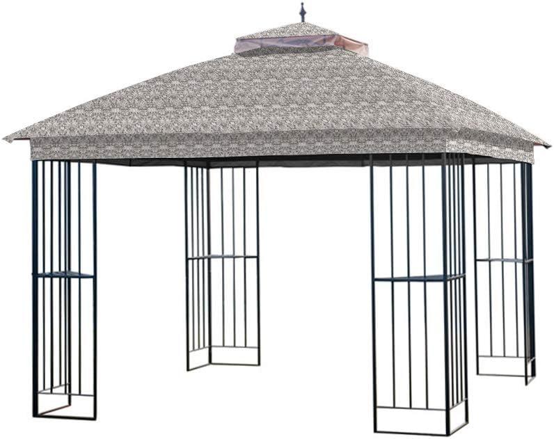 Garden Winds Replacement Canopy for The Garden Treasures Steel Finial Gazebo - Standard 350  sc 1 st  Amazon.com & Amazon.com: Accessories - Canopies Gazebos u0026 Pergolas: Patio Lawn ...