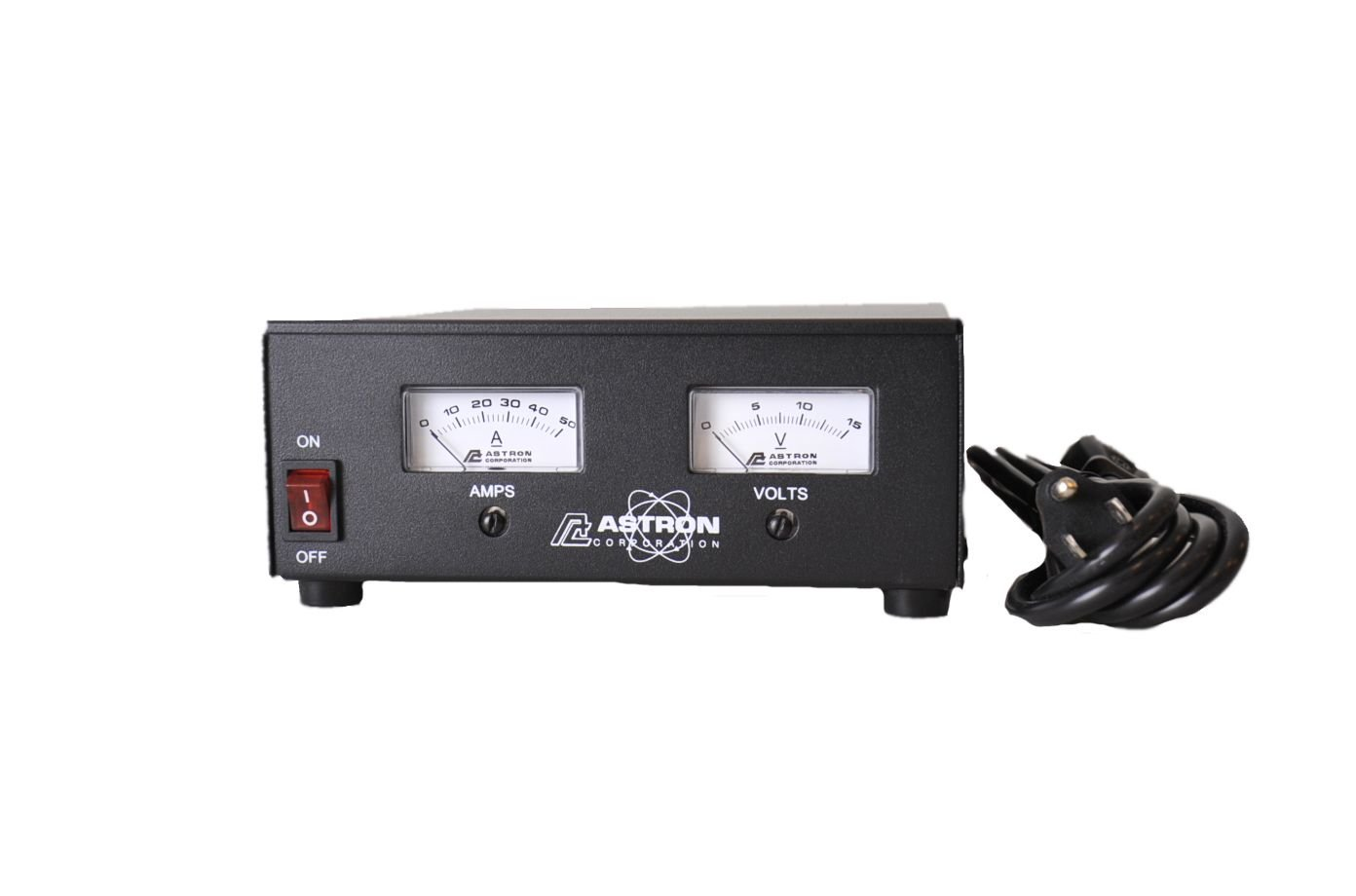 Astron SS-50M Desktop Switching Power Supply, 13.8v, 50A, with Meters
