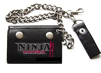 Amazon.com: NINJA GAIDEN Tri-Fold WALLET w/ Chain: Mascot ...