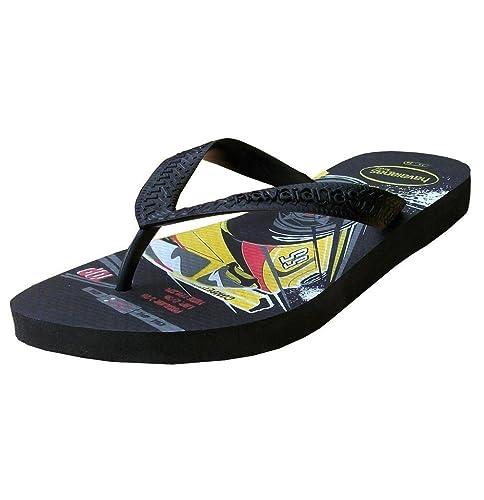 3989c1210 Havaianas Kids - Chanclas de dedo para niño con dibujo de coche - Negro -  Eur 33 34  Amazon.es  Zapatos y complementos