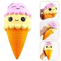 Anwish Ice cream Squishy Super Jumbo Slow Rising Rare Fun Toy