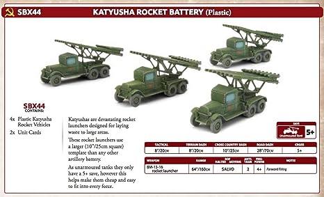 Amazon com: Flames of War: Mid War: Soviet: Katyusha Guards