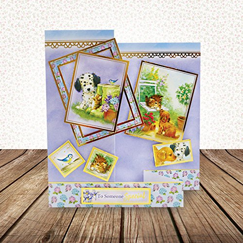 Hunkydory Return of the Little Paws Luxury Collection with 8 Topper Sets Card Kits by HunkyDory Crafts (Image #2)