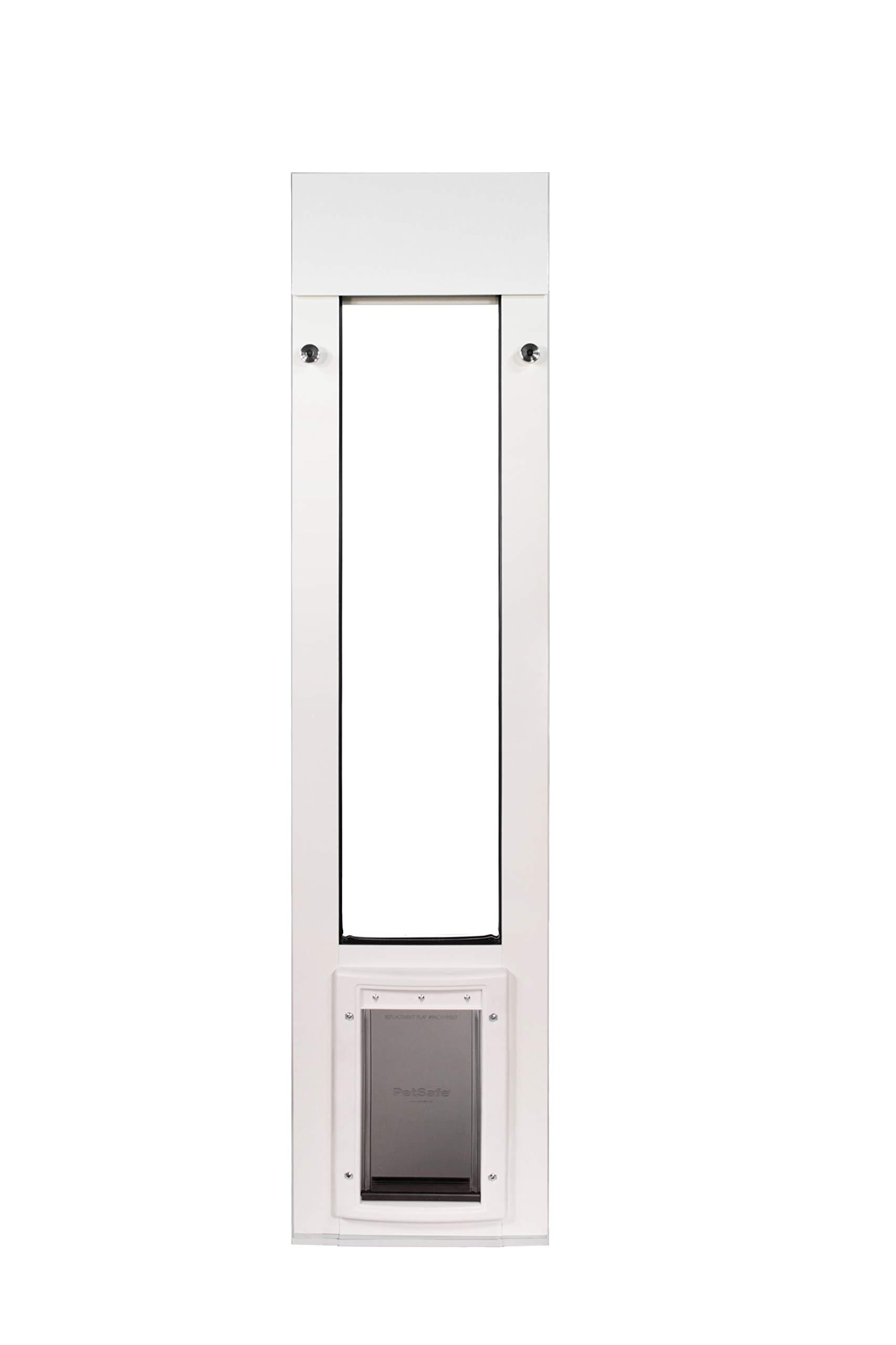 Patio Pacific Inc. Cat Door for Horizontal Sliding Windows with Small Plastic Pet Door by Patio Pacific Inc.