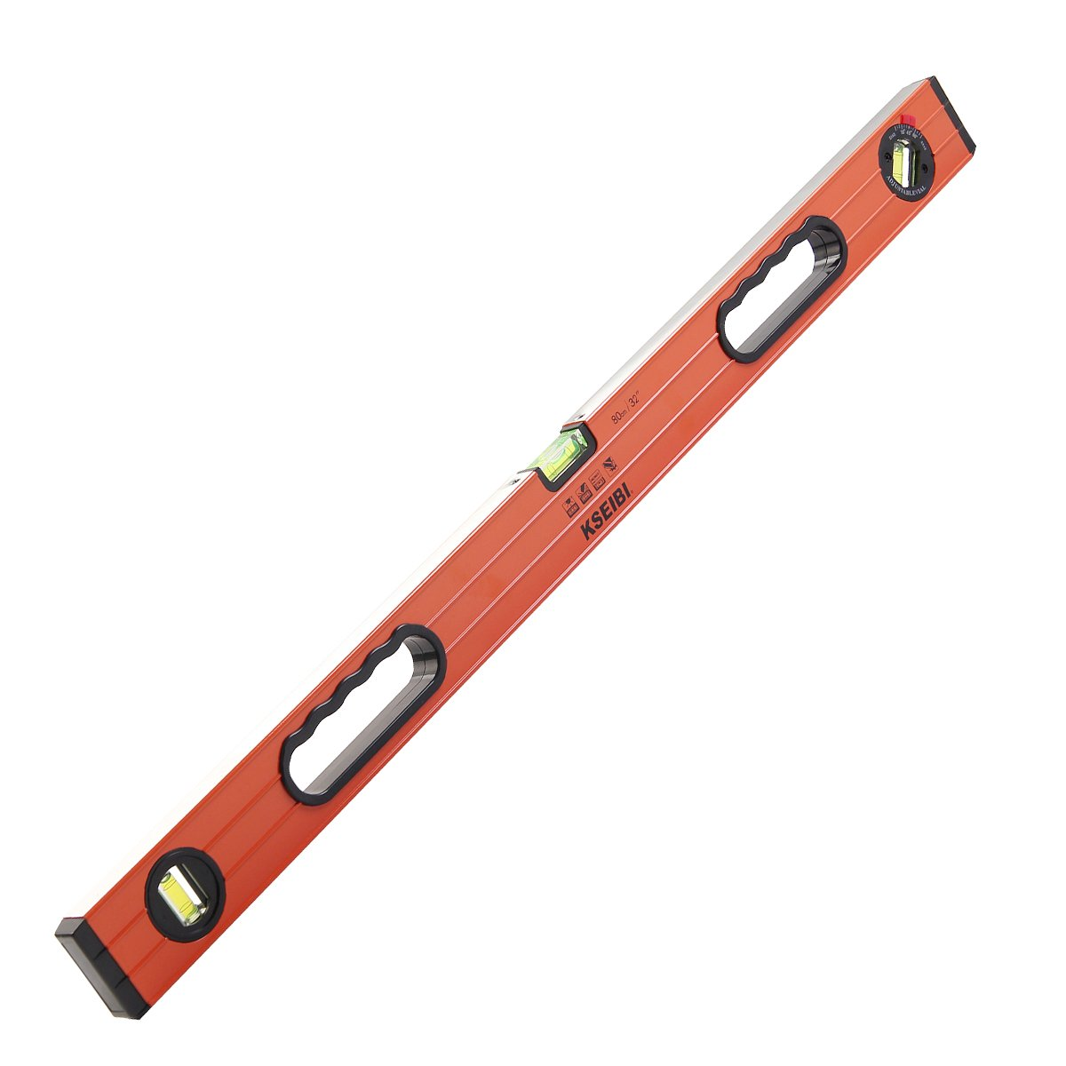 KSEIBI 301155 Measuring Spirit level 32 Inch With Two Handle Adjustable Vial