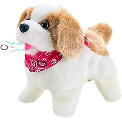 Liberty Imports Cute Little Puppy - Flip Over Dog, Somersaults, Walks, Sits, Barks: Toys & Games