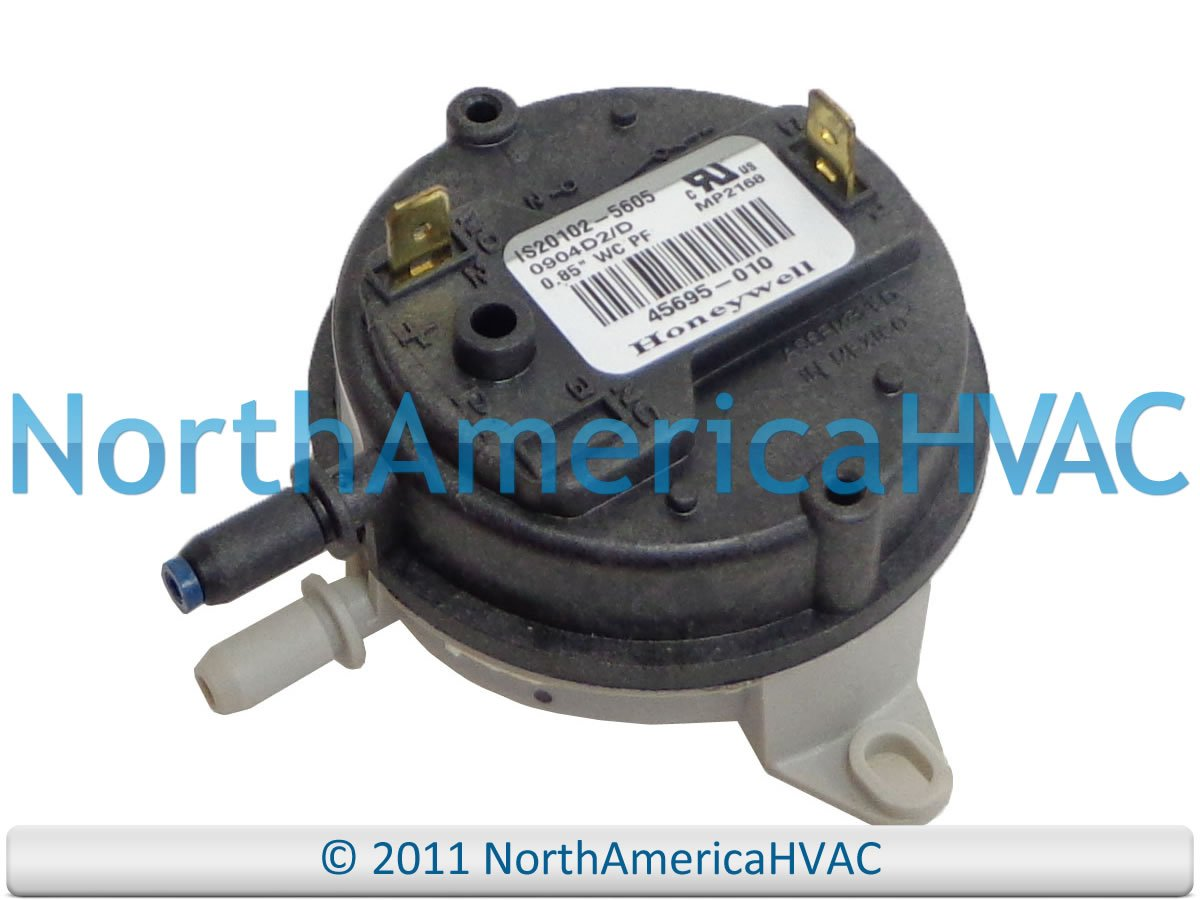 IS20102-5605 - Honeywell OEM Furnace Replacement Air Pressure Switch 0.85