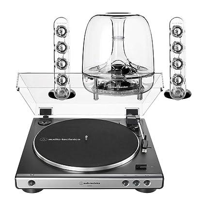 Amazon.com: AudioTechnica AT-LP60XGM Sistema de tocadiscos ...