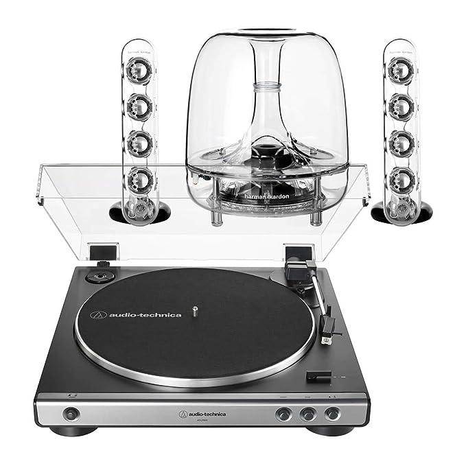 AudioTechnica AT-LP60XGM Sistema de Tocadiscos estéreo ...