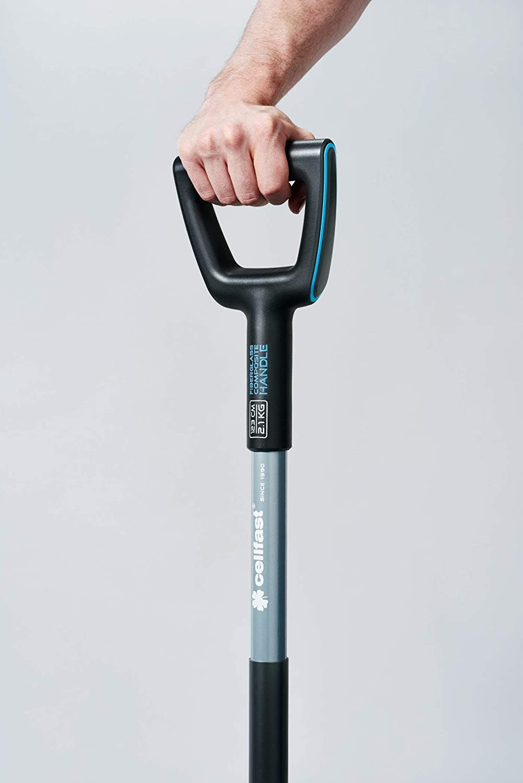 Schwarz//Blau 1230mm Cellfast Ergo Spaten