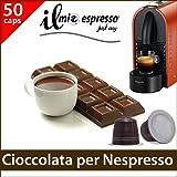 50 capsule compatibili Nespresso - 5 sacchetti da 10 capsule Cioccolata Calda per macchina caffè Nespresso - Capsule dedicate a macchine Nespresso - Il Mio Espresso
