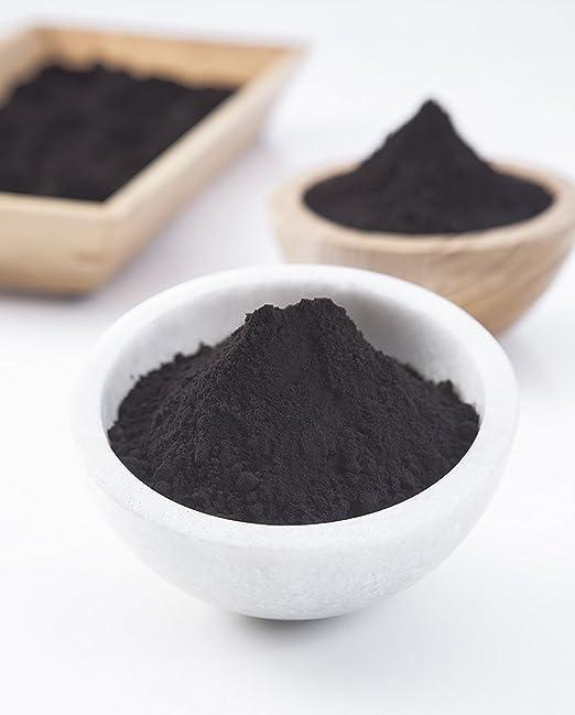 Amazon.com: Polvo de carbón activado de madera dura de EE ...