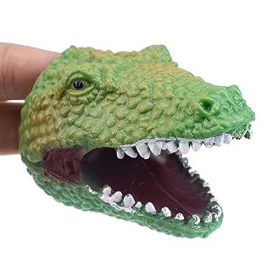 ACHICOO - Minijuguete de Modelado de cocodrilo Verde para niños: Hogar