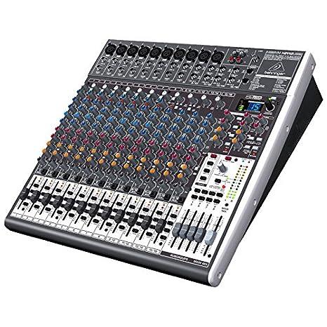 Behringer X2442USB - X2442 usb mezclador para directo x-2442 usb und.: Amazon.es: Instrumentos musicales