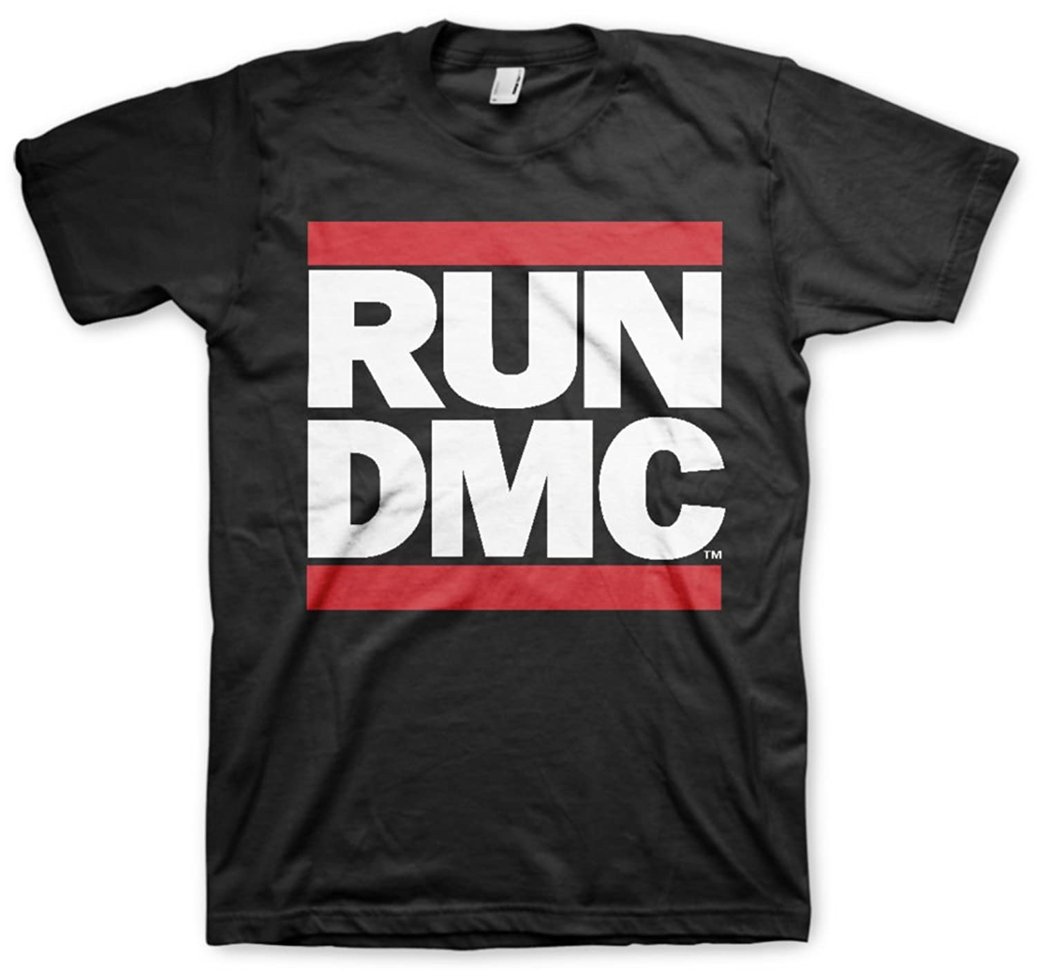 Run Dmc Logo Tee T Shirt T-Shirt Merchandise Merch Hip Hop Rap Herren Men