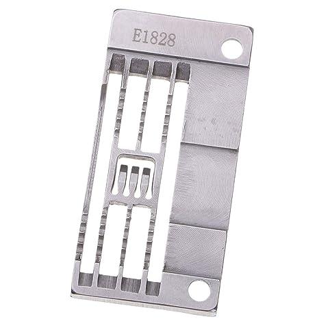 Baoblaze E1828 Placa de Alfiler de Pespunte Universal para Máquina de Coser Industrial