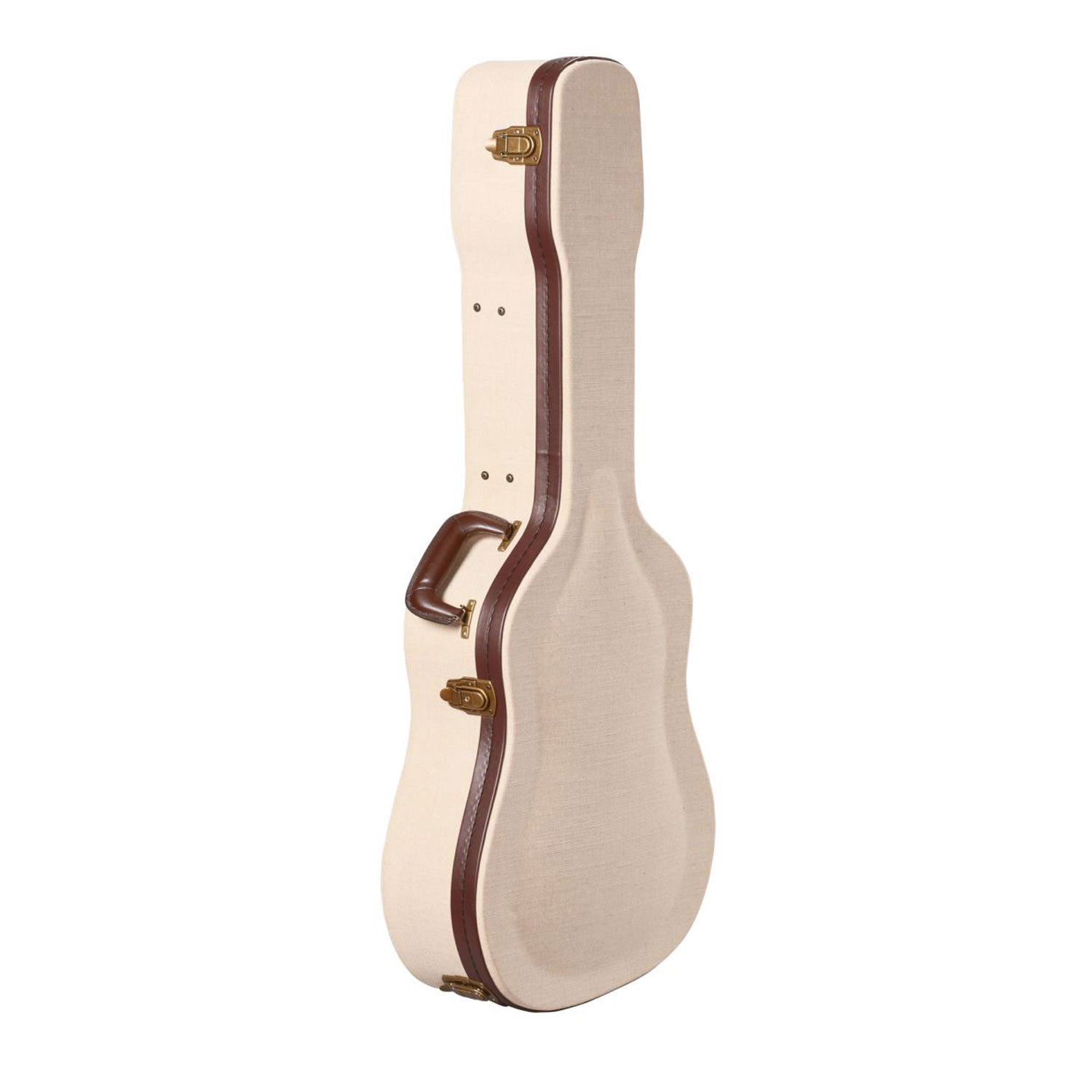 Gator Cases Journeyman Series Deluxe Wood Case for Acoustic Guitars (GW-JM-DREAD) by Gator