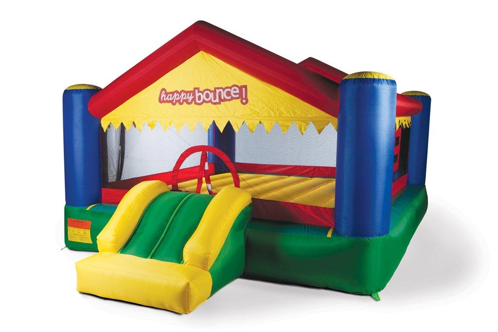 Avyna Hüpfburg Party House Big mit Rutsche (für bis zu 5 Kindern)