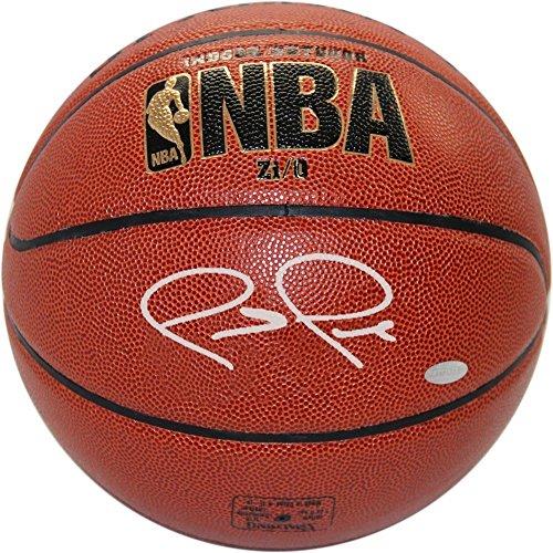 Signature Basketball Silver (Paul Pierce Autographed I/O Basketball Autographed in Silver - Authentic Signature)