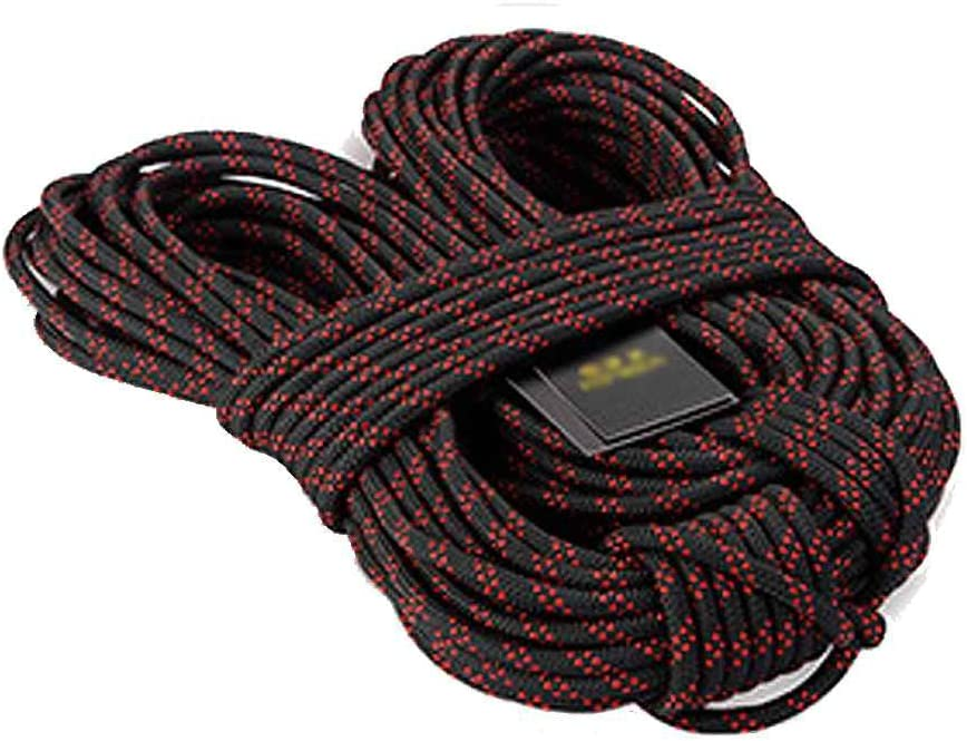 Gankmachine XINDA 8mm Outdoor Hiking Mountaineering Fire Rescue Safety Harness Rope Rock Climbing Rope Cord Outdoor Survival Tool