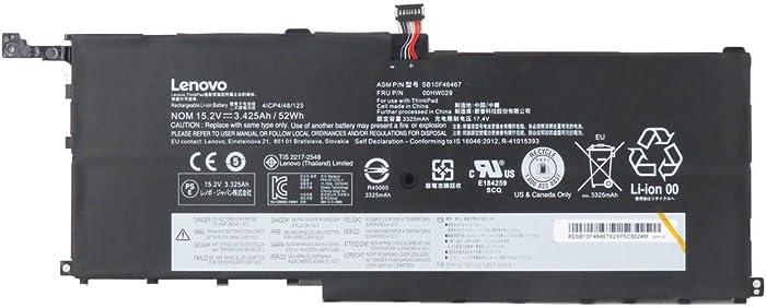 Battery For Lenovo X1 Yoga Carbon 3.425Ah 52Wh 00HW029 New Genuine