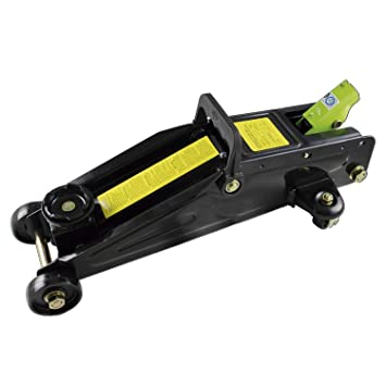 JBM 51895, Gato hidráulico carretilla en caja plástica, negro: Amazon.es: Coche y moto
