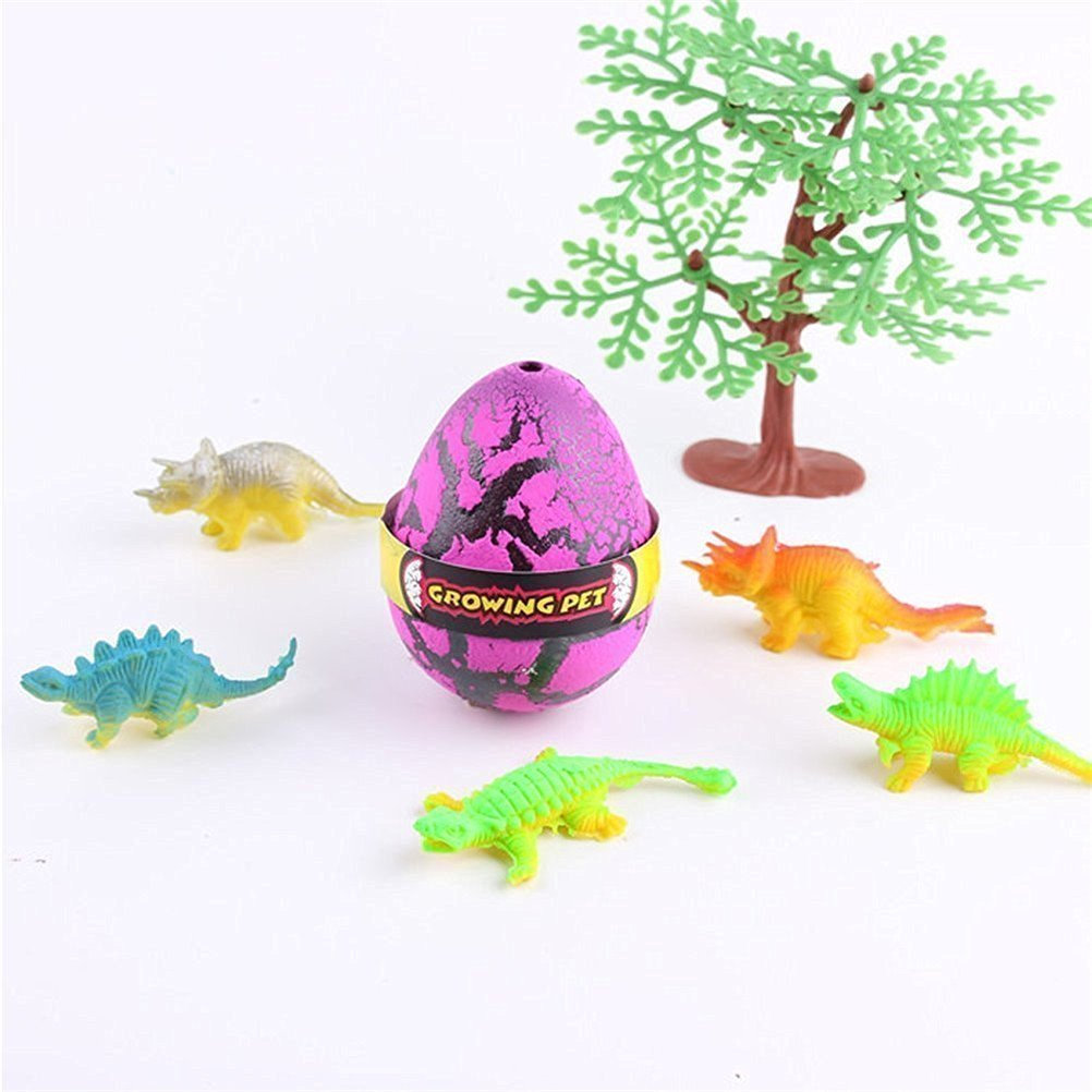 Toys & Hobbies Yeelan Hatching Dino Egg Toy Dinosaur Dragon Hatch-grow Eggs Large Size Pack Of Animals & Dinosaurs