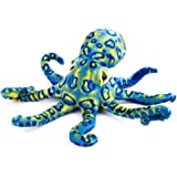 Stuffed Animals, Stuffed Octopus Plush Toys Cuddly Soft and Cute Wonderful Gifts for Children Baby, Blue, 12 Inch, 1 Piece