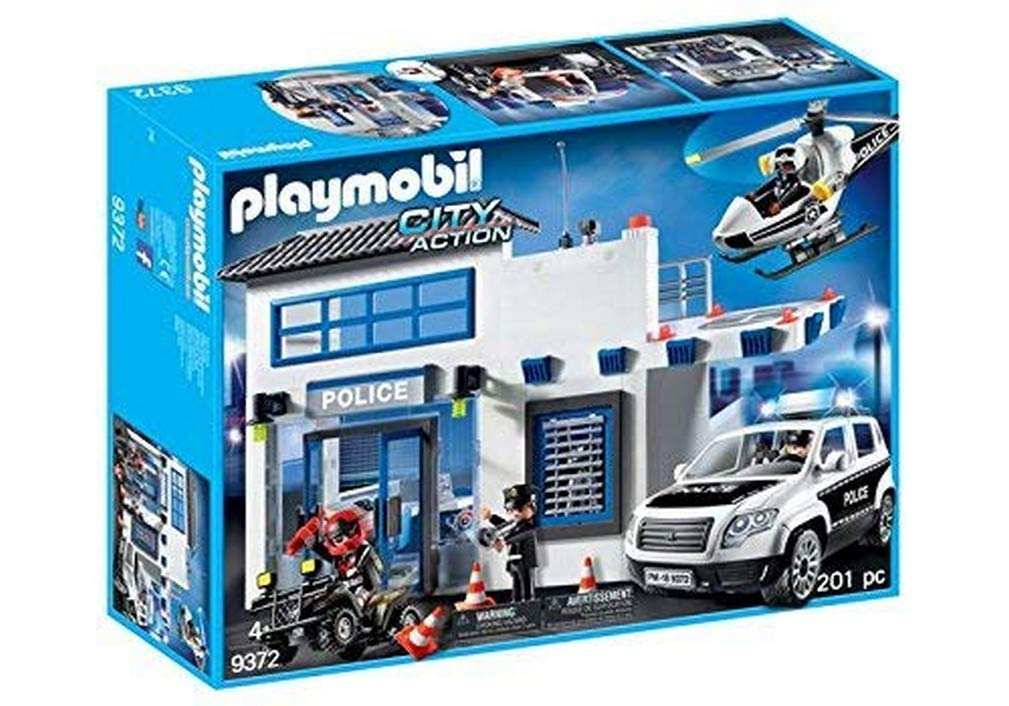 Playmobil 9372 Police Station Bundle