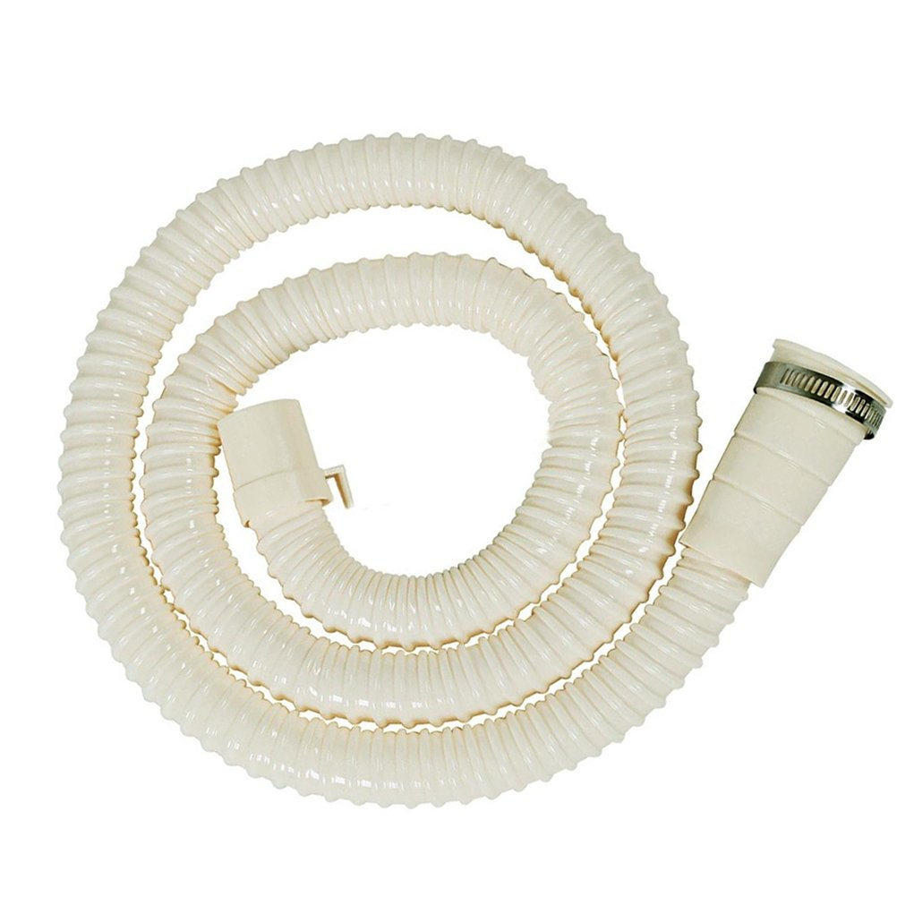 Home-organizer Tech Washing Machine Drain Discharge Hose Extension Kit, Universal Fit All Drain Hose/BONUS: 1Hose Clam (12 FT)