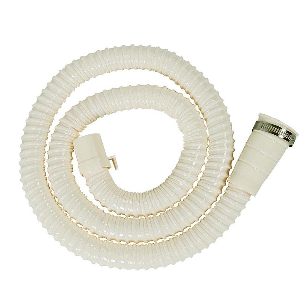 Home-organizer Tech Washing Machine Drain Discharge Hose Extension Kit, Universal Fit All Drain Hose/BONUS: 1Hose Clam (3 FT)
