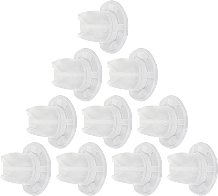 10 Pack Replacement Vacuum Filters for Black and Decker VF110 Dustbuster Cordless Vacuum,Compatible with Black and Decker Hand Vacuums CHV1410L CHV1210 CHV1410 CHV1510 HHVI315JO32 Part 90558113.