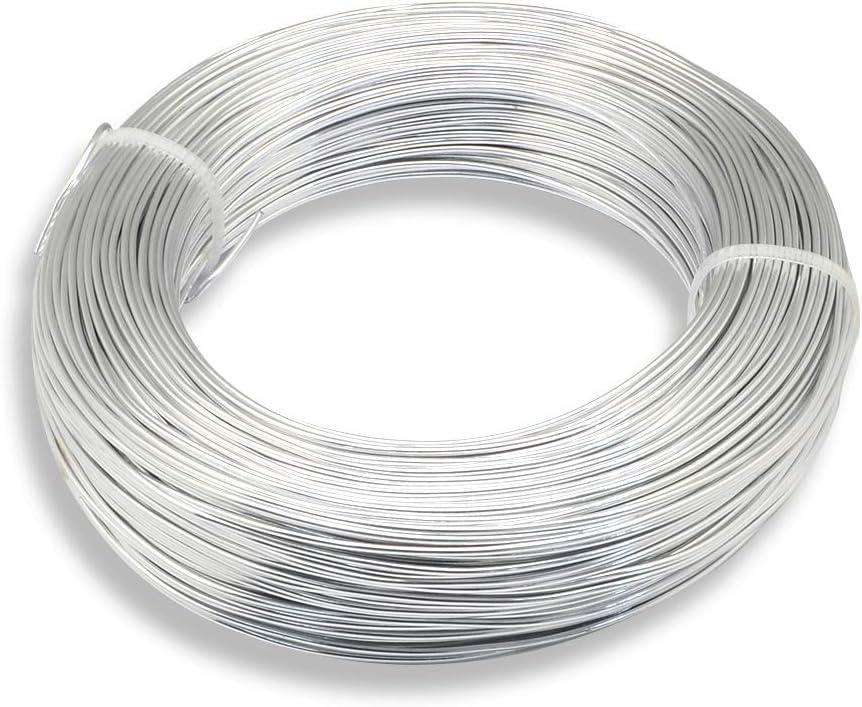 Sterling Silver Round Wire 1mm Dia 0.3048 metre x 12inch 18 gauge