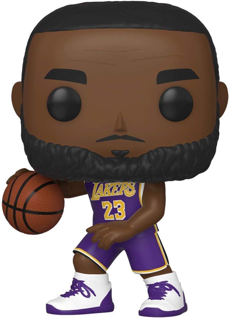 Funko- Pop NBA: Lakers-Lebron James Figura Coleccionable, Multicolor (46549)