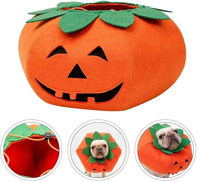 Cachorro Fantasias de Animal de Estimação de Halloween Funky Roupas de Abóbora para Cachorro