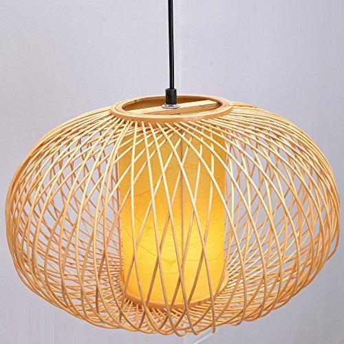 umpkin Dining Room Ceiling Pendant Lamp Janpanese Restaurant Pendant Lights Country Rustic Hanging Lamps ()