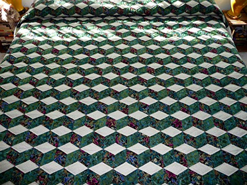 Amish Quilt Tumbling Blocks