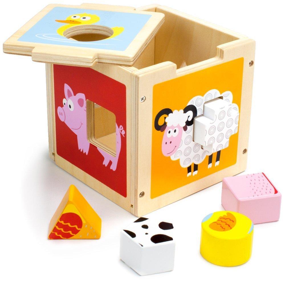 最安値に挑戦! By-Imagination Generation 幼児用おもちゃ 子供 木製 ワンダー ワンダー 納屋 ソーティングキューブ 女の子 男の子 プレイセット 子供 プレイセット おもちゃ B07G2C7Y4P, PORTUS:6aac1e42 --- a0267596.xsph.ru