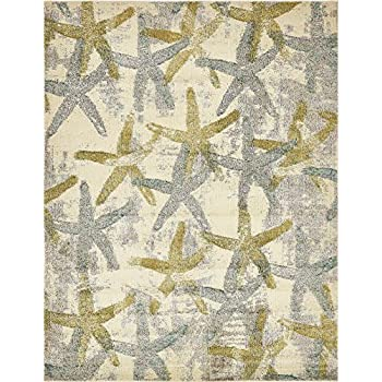 Amazon Com A2z Rug California Collection Beige 8 X 10