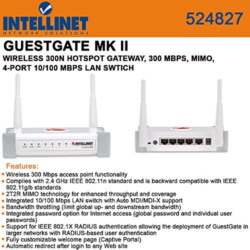 Intellinet GuestGate MKII Wireless HotSpot Gateway - Mimo Wireless Intellinet