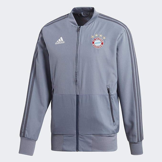 adidas 18/19 FC Bayern Chaqueta, Hombre: Amazon.es: Ropa y ...