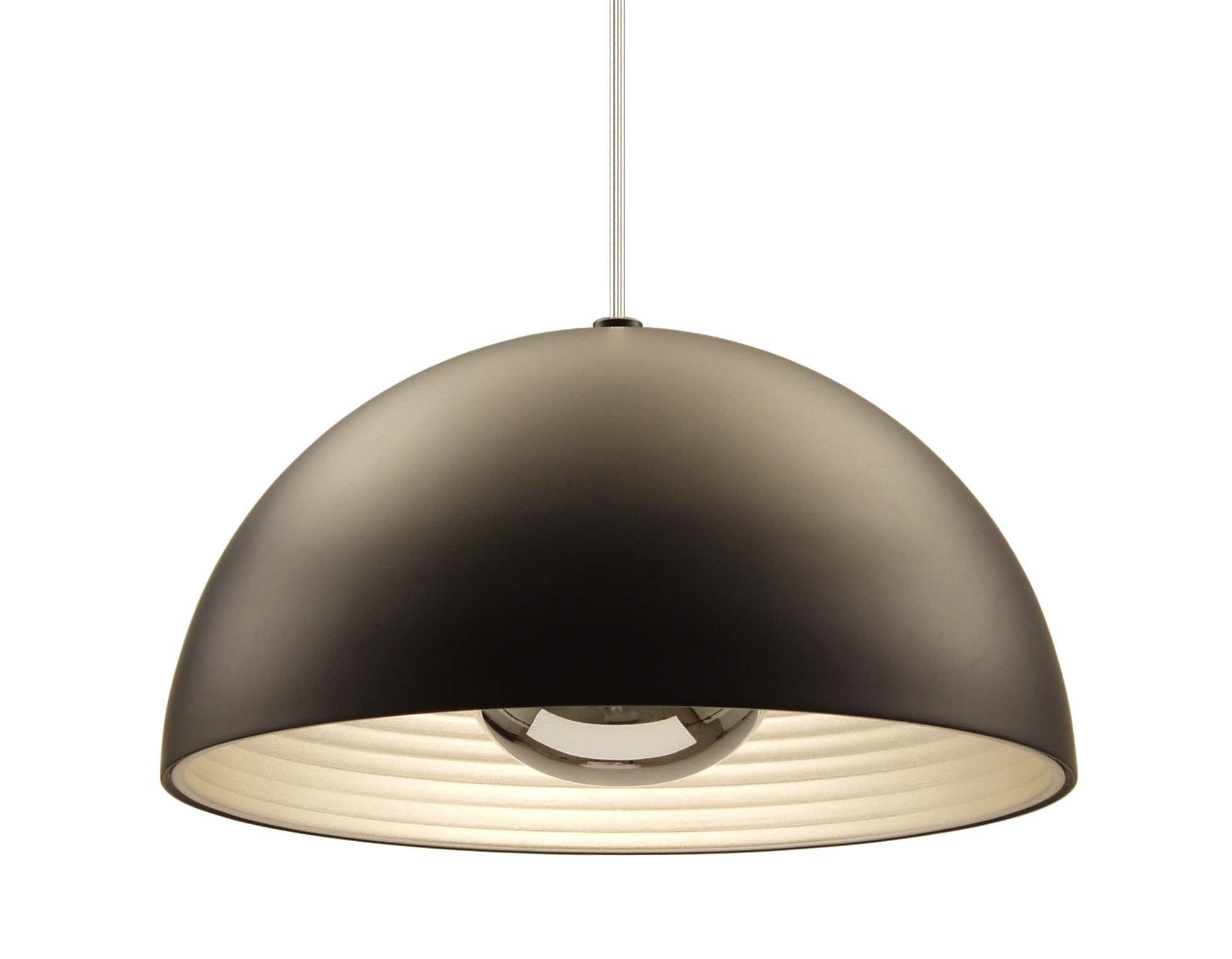 Seed Design USA Dome Pendant, Medium, Black