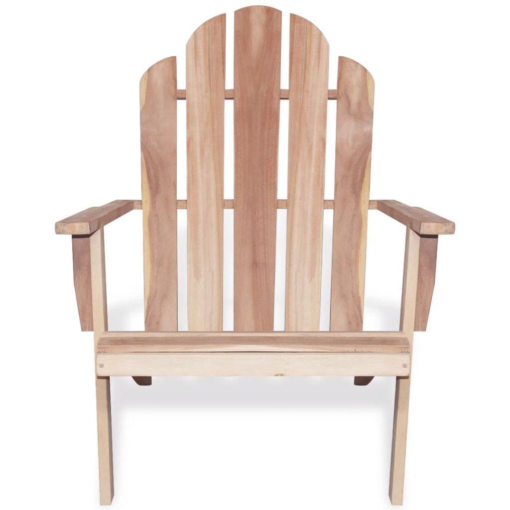 Amazon.com: daonanba teca Adirondack silla tumbona de jardín ...