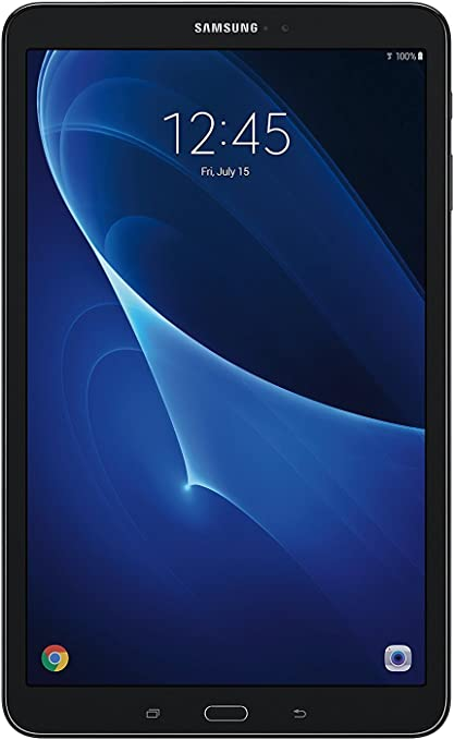 Samsung Galaxy Tab A SM-T580 10.1-Inch Touchscreen 16 GB Tablet (2 GB Ram, Wi-Fi, Android OS, Black) Bundle with 32GB microSD Card