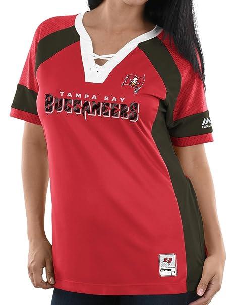 9b1b1167 Majestic Tampa Bay Buccaneers Women's NFL Draft Me 3