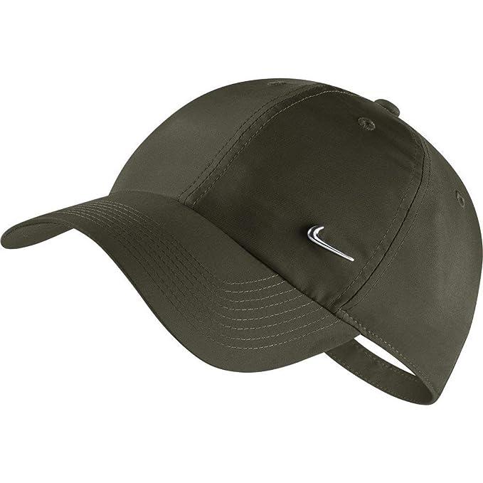 Nike Sportswear Heritage86 Gorra Hombre Verde Ajustable: Amazon.es ...