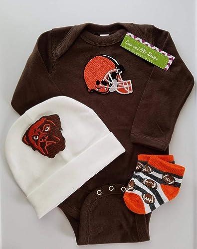 brand new cb18e 5e2c6 Cleveland Browns baby clothes boy/Cleveland ... - Amazon.com