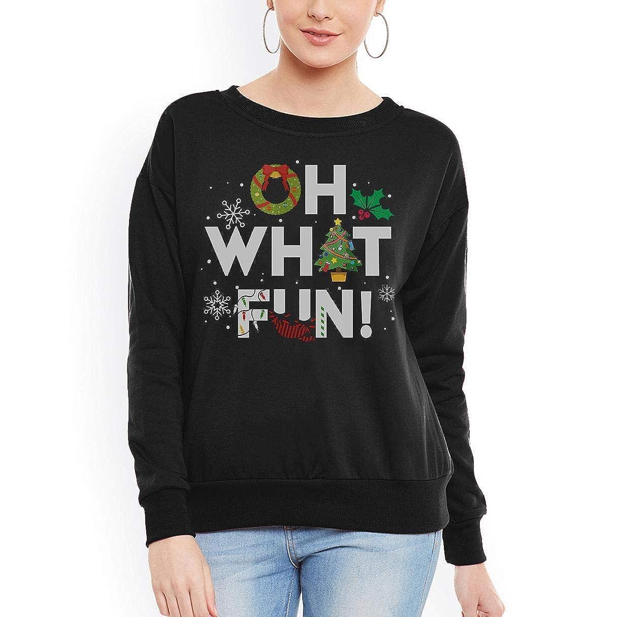 Oh What Fun Christmas Women Sweatshirt tee